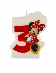 Bougie d'anniversaire 3 ans Minnie™