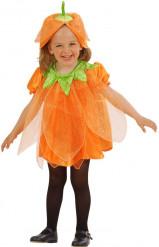 Déguisement citrouille pailletée enfant Halloween