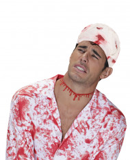 Bande ensanglantée Halloween