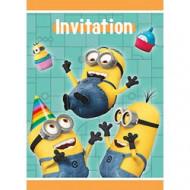 8 Invitations Moi moche et méchant™