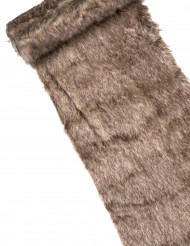 Chemin de table fourrure fauve 3m