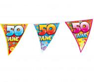 Guirlande fanions anniversaire 50 ans