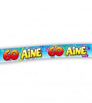 Banderole anniversaire 60 ans