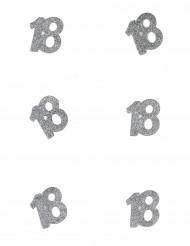 6 Confettis anniversaire 18 ans