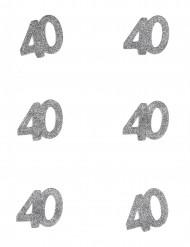 Confetti anniversaire 40 ans