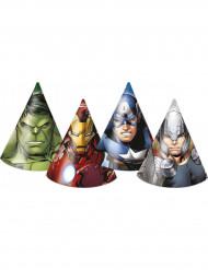 6 Chapeaux de fête Avengers™