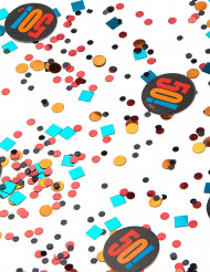 Confettis anniversaire 50 ans