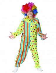 Déguisement clown coloré enfant