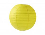 Lanterne japonaise jaune 25 cm