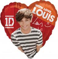 Ballon en aluminum Louis des One Direction ™ 43 cm