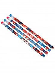 12 Crayons à papier Spiderman ™