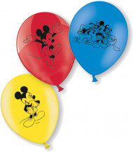 10 Ballons en latex Mickey ™