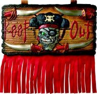 Panneau Pirate Keep Out