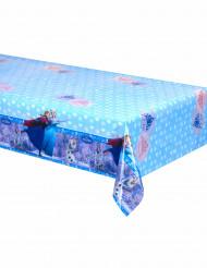 Nappe en plastique bleue La Reine Des Neiges™ 120 x 180 cm