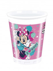 8 Gobelets en plastique Minnie ™ 200ml