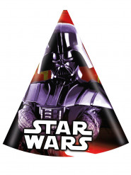 6 Chapeaux de fête Dark Vador Star Wars™