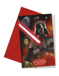 6 Cartes d'invitation Star Wars™