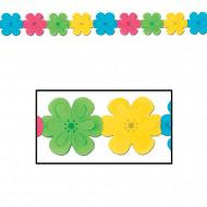 Guirlande en papier de fleurs 3,7 m