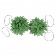 Haut de Bikini feuilles de fougères tropicales