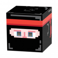 Masque cube Ninja 8-Bit Années 80's