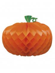 Centre de table papier Citrouille Halloween