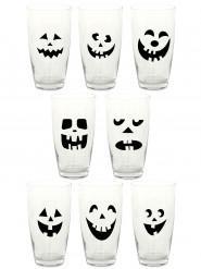 16 Adhésifs pour verre Halloween