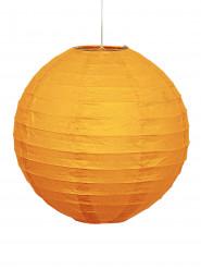Lanterne en papier orange 25 cm