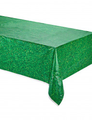 Nappe verte en plastique effet herbe 137 x 274 cm