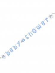 Bannière Baby Shower Elephant Bleu