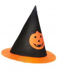 Chapeau sorcière citrouille enfant Halloween