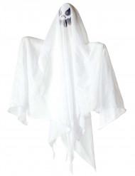 Décoration fantôme lumineux Halloween 50 cm