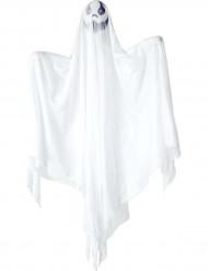 Décoration à suspendre fantôme lumineux Halloween 90 cm