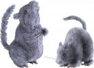 Décoration rat 14 cm Halloween