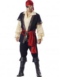 Déguisement Pirate noir pour homme - Premium