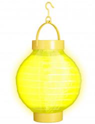 Lanterne lumineuse à led jaune 15 cm