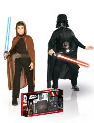 Coffret déguisements Jedi et Dark Vador  enfant - Star Wars™