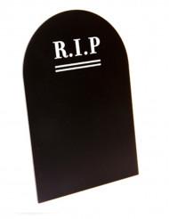 Menu pierre tombale gothique 18 x 12 cm