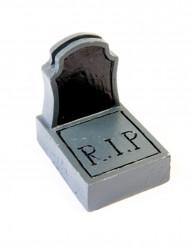 Marque-place en plastique pierre tombale Halloween