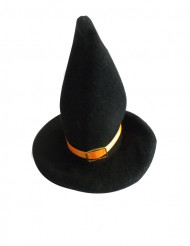 2 Décorations petits chapeaux de sorcière 18 x 13 cm