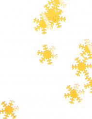 Flocons des neiges dorés 45 g Noël