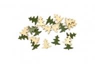 20 Confettis de table sapin de Noël 10 g