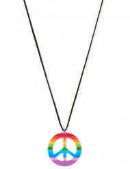 Collier hippie multicolore Adulte