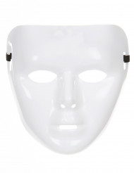 Masque blanc brillant Adulte