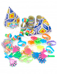 Kit cotillons multicolores 6 enfants