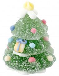 Sapin de Noël en sucre et gélatine