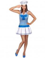Déguisement uniforme marin sexy femme