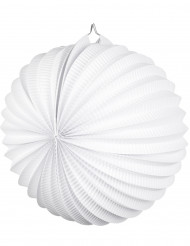 Lanterne boule blanche 23 cm