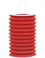 Lampion en papier rouge 15 cm