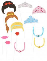 Kit photobooth 12 pièces Princesse