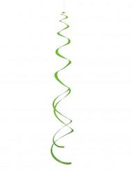 8 Suspensions spirales vertes